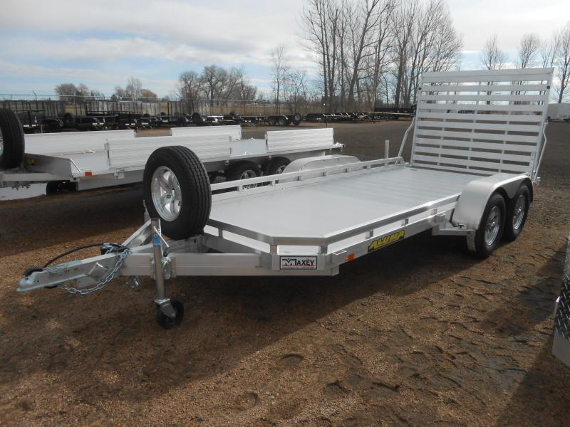2020 Aluma 7816TA Aluminum Tandem Axle Utility Trailer