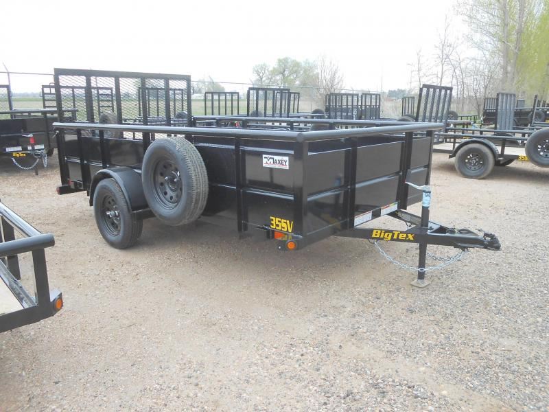 2019 Big Tex Trailers 35SV-12 Solid Side Utility Trailer