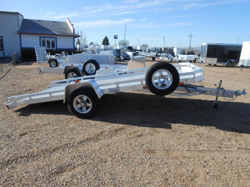2020 Aluma 7814S-TILT All Aluminum Tilt Deck Utility Trailer