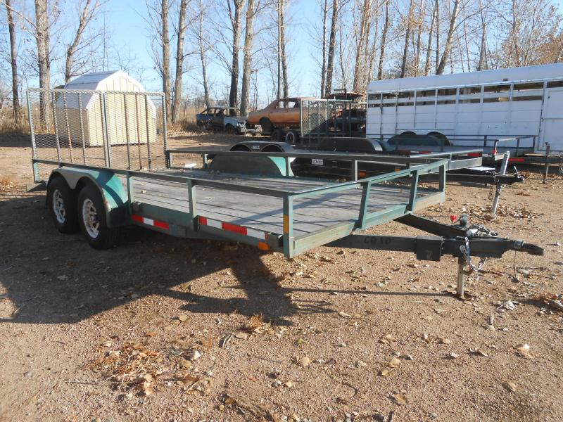 1994 Other Sport Trail 7 X 16 Utility Trailer