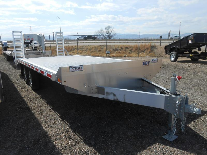 2017 Eby Trailers 20FT ALUMINUM DECK-OVER 10K Flatbed Trailer