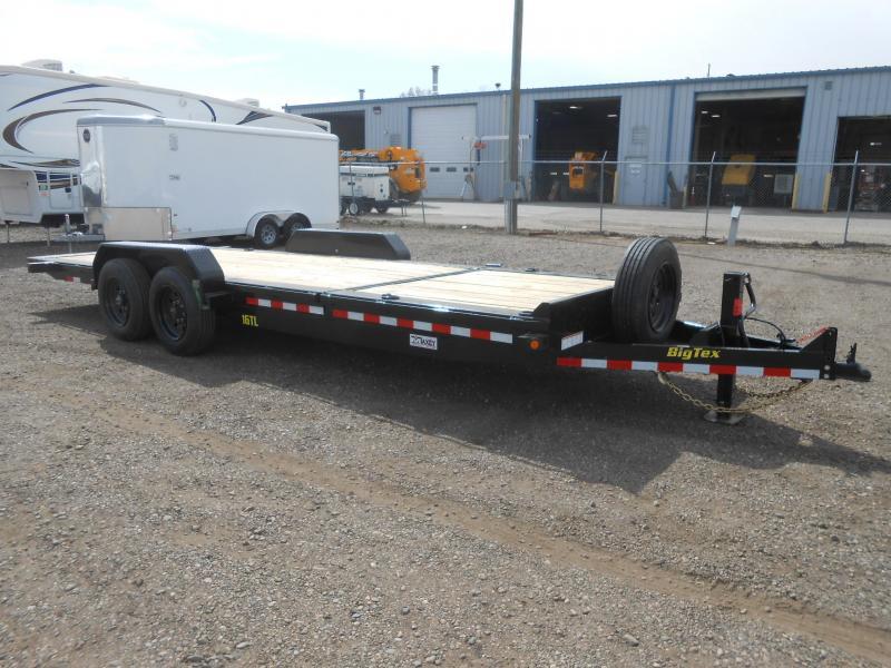 2020 Big Tex Trailers 16TL-22 Super Duty Tilt Deck Equipment Trailer