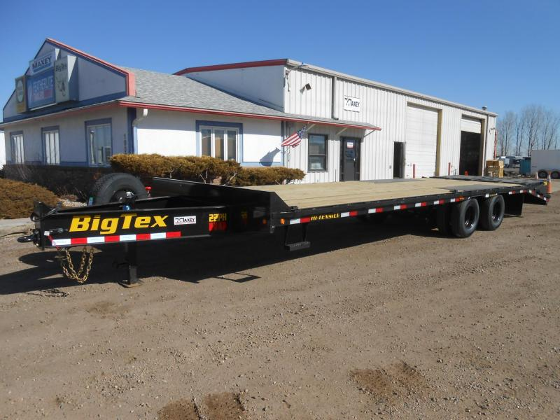 2020 Big Tex Trailers 22PH-25+5MR Pintle Deck-Over Flatbed Trailer