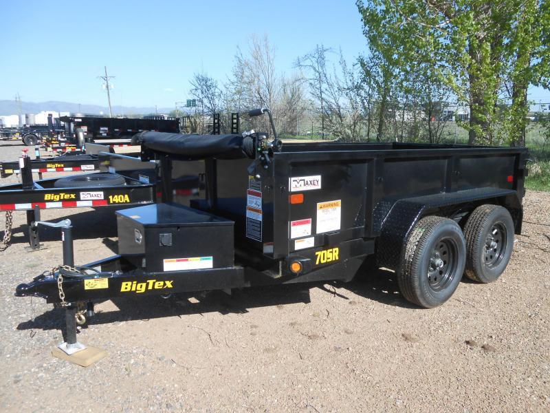 2019 Big Tex Trailers 70SR-10-5WDD Dump Trailer