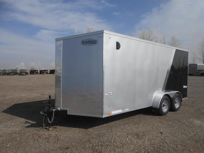 2019 Cargo Express XLW7X16TE2SE-RD Enclosed Cargo Trailer