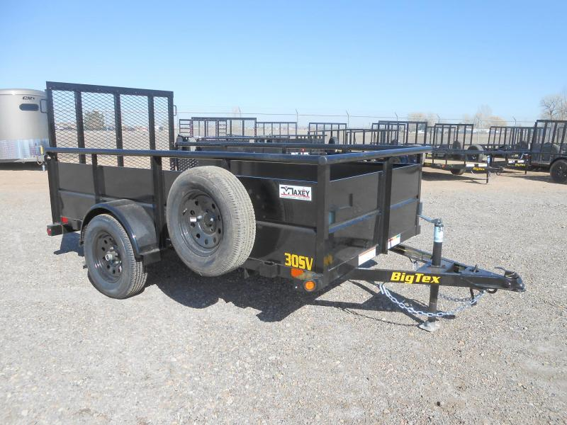 2019 Big Tex Trailers 30SV-10 Solid Side Utility Trailer