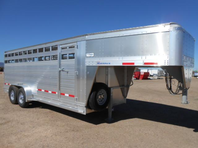 2019 EBY 20FT MAVERICK Livestock Trailer