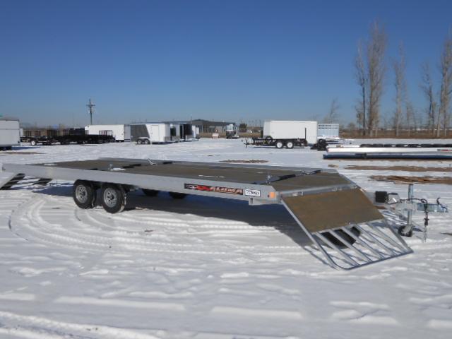 Snowmobile Trailer Axles : Aluma ft snowmobile trailer
