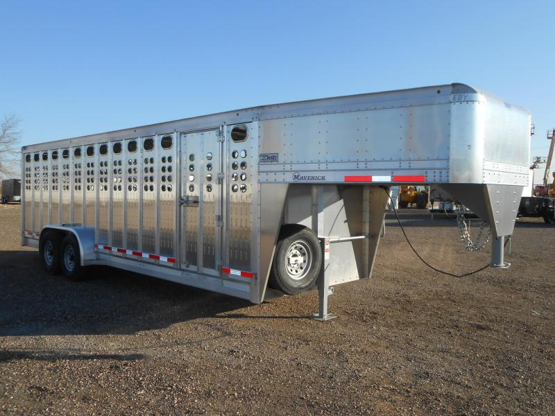2019 EBY 24FT MAVERICK PUNCH PANEL Livestock Trailer
