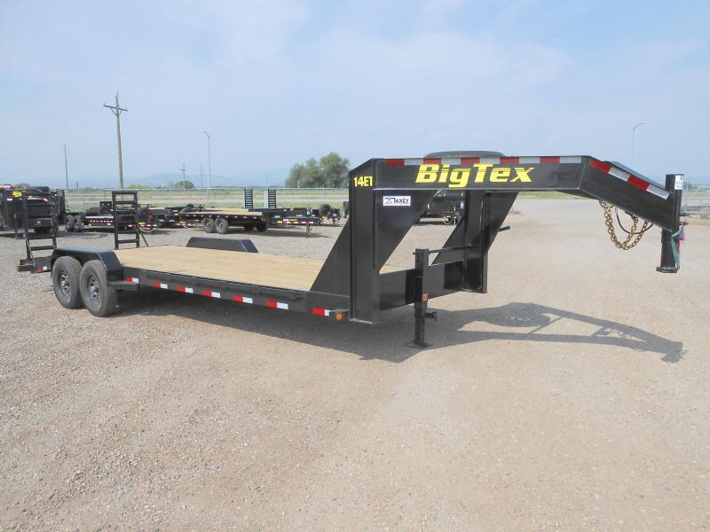 2019 Big Tex Trailers 14ET-24GN Gooseneck Equipment Trailer