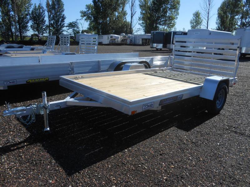 2020 Aluma 7812ESW Wood Deck Aluminum Utility Trailer