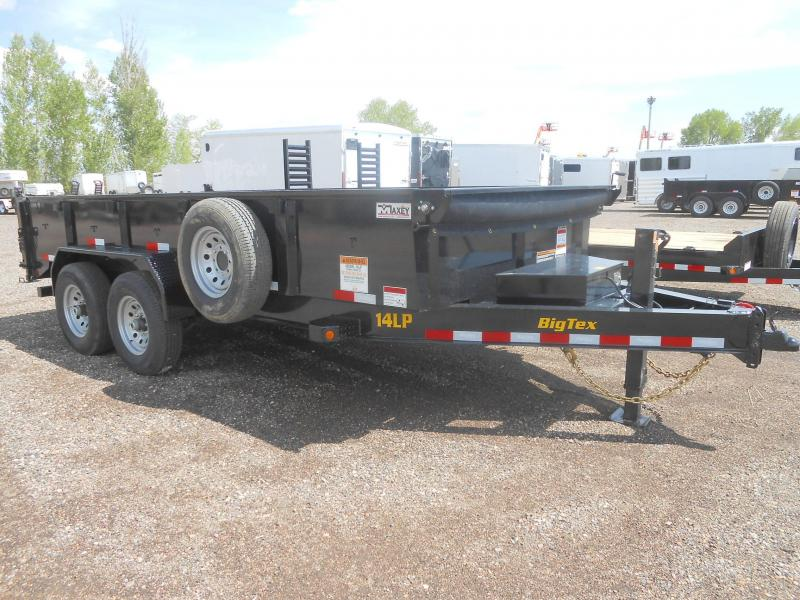 2020 Big Tex Trailers 14LP-16 Low Profile Dump Trailer