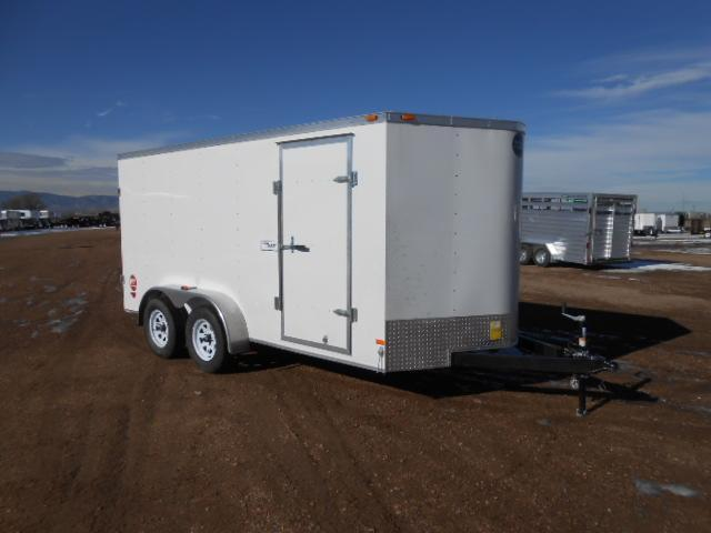 2017 Wells Cargo FT7142-DBL DRS Enclosed Cargo Trailer