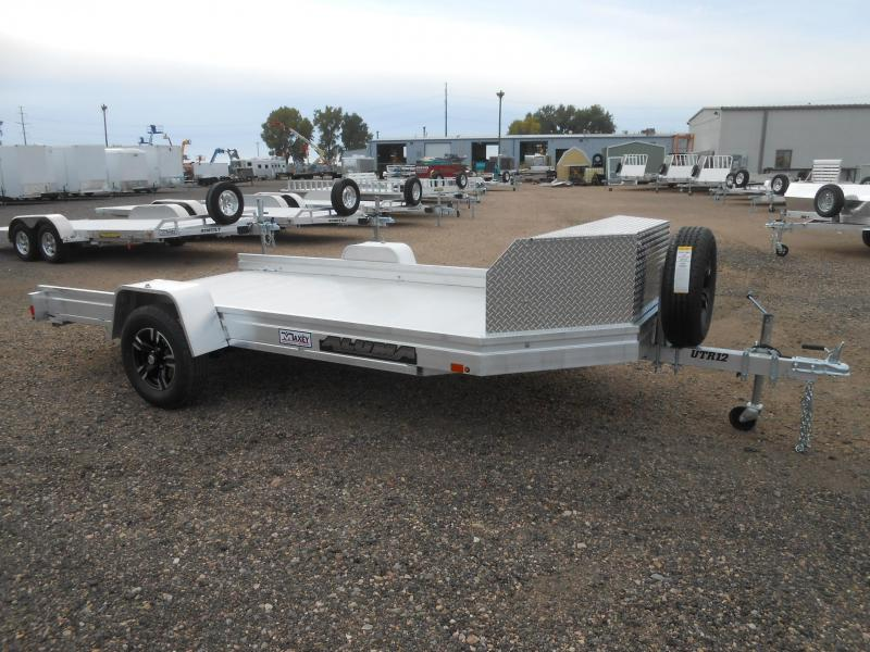 2021 Aluma UTR12 All Aluminum UTV / ATV Trailer