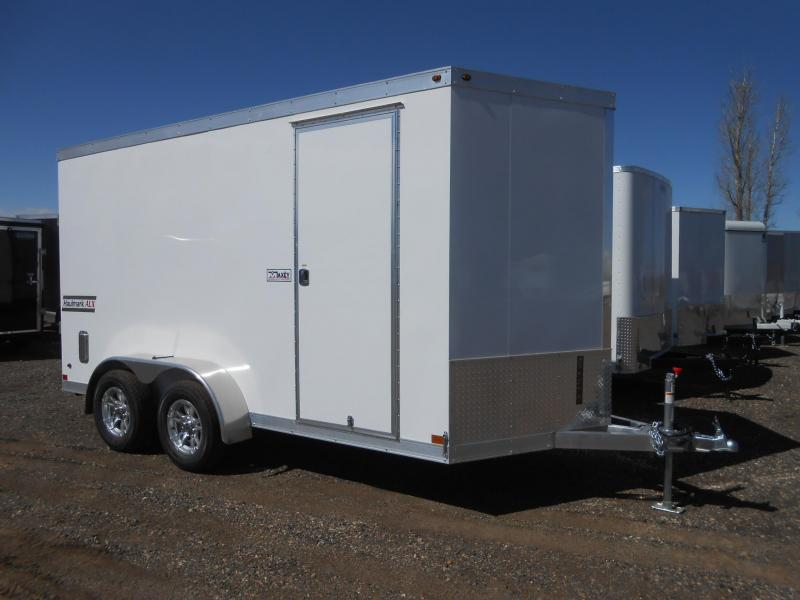 2019 Haulmark HAUV7X14WT2-RD All Aluminum Enclosed Cargo Trailer