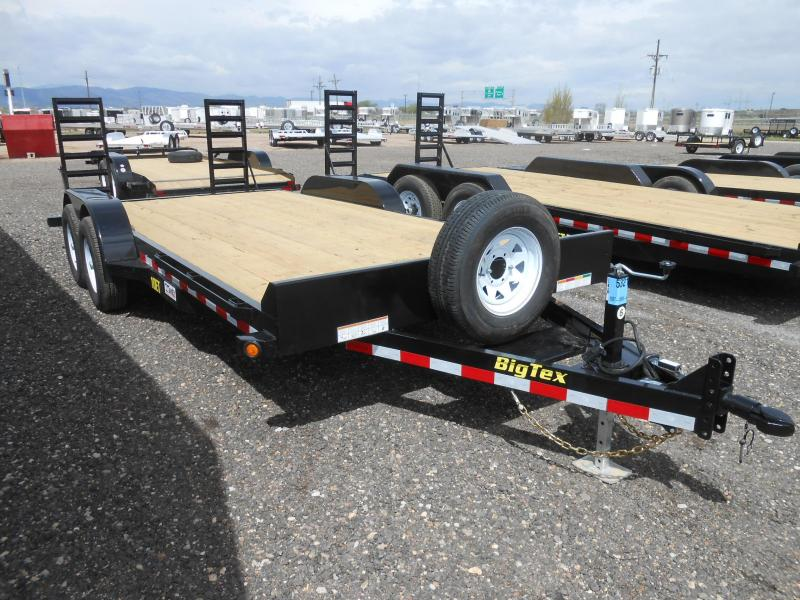 2019 Big Tex Trailers 10ET-18KR Equipment Trailer