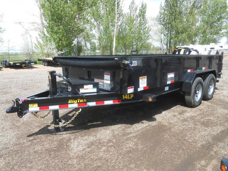 2020 Big Tex Trailers 14LP-16 Low Profile Dump Trailer