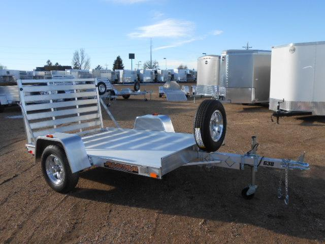 2020 Aluma 638 All Aluminum Utility Trailer