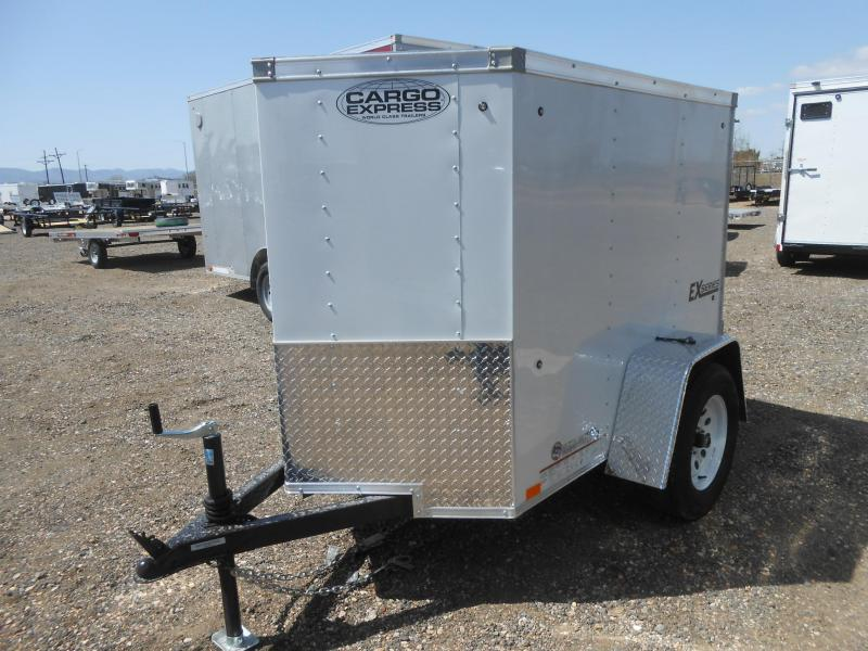 2019 Cargo Express EX4X6S12-V Enclosed Cargo Trailer