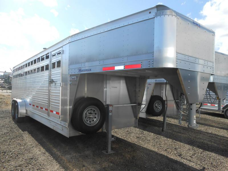 2019 EBY 24FT MAVERICK Livestock Trailer