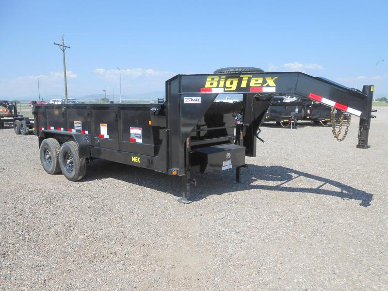 2020 Big Tex Trailers 14GX-14 Gooseneck Dump Trailer