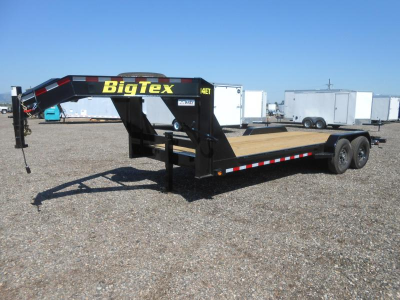2020 Big Tex Trailers 14ET-20GN Equipment Trailer