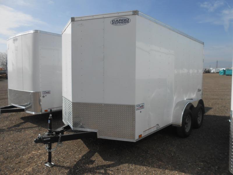 2019 Cargo Express EX7X12TE2-V-RD Enclosed Cargo Trailer