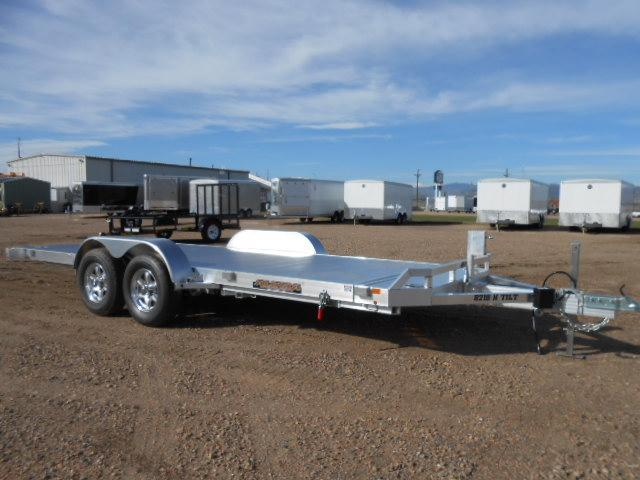 2019 Aluma 8218-TILT All Aluminum Car / Racing Trailer