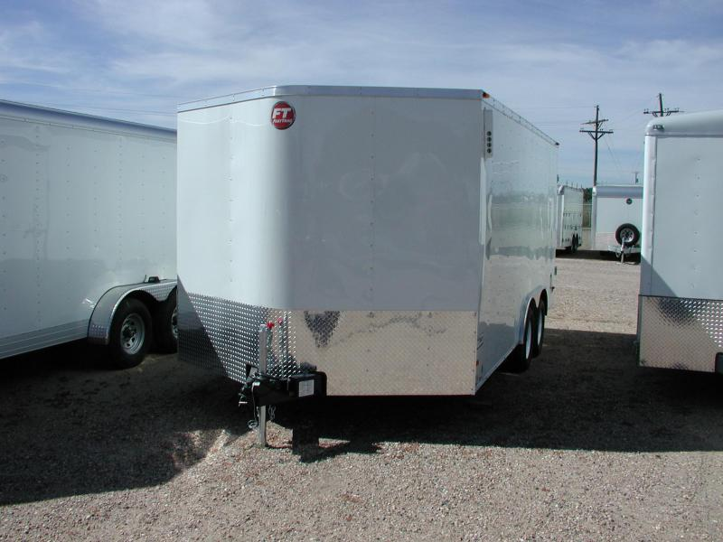 2015 Wells Cargo FT85162-DBL DRS Enclosed Cargo Trailer