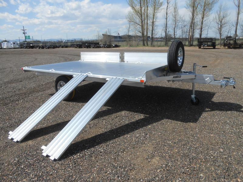 2021 Aluma A8812 All Aluminum 3-Place ATV Trailer