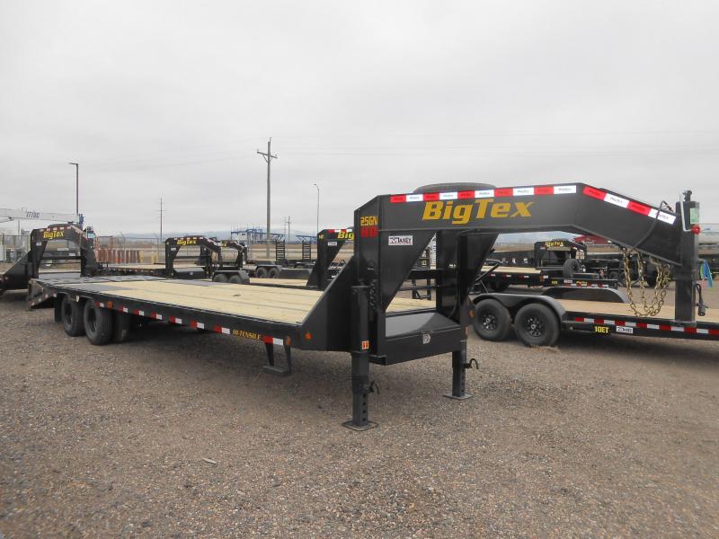 2020 Big Tex Trailers 25GN-25+5MR Gooseneck Flatbed Trailer