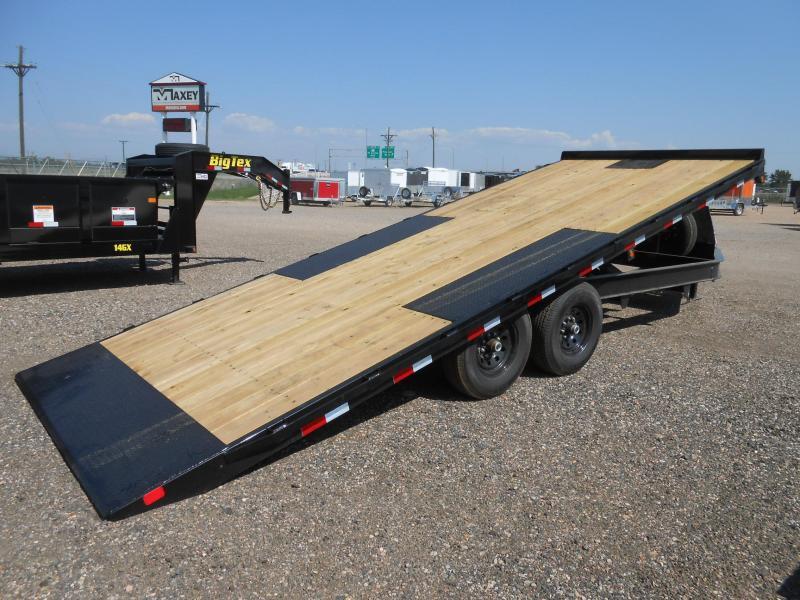 2020 Big Tex Trailers 14OT-22 Bumper Pull Deck-Over Power Tilt Flatbed Trailer