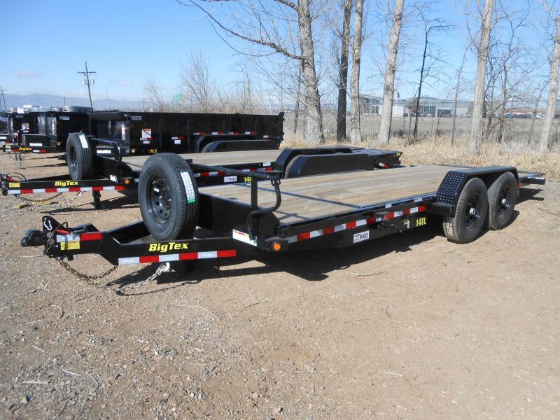 2020 Big Tex Trailers 14TL-20 Tilt Deck Equipment Trailer