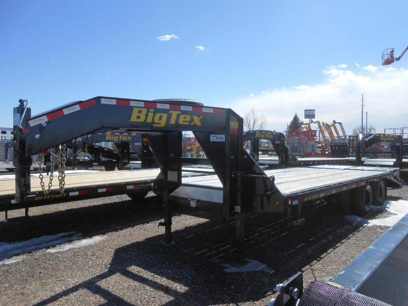2020 Big Tex 22GN-20+5MR Gooseneck Flatbed w/ MEGA RAMPS