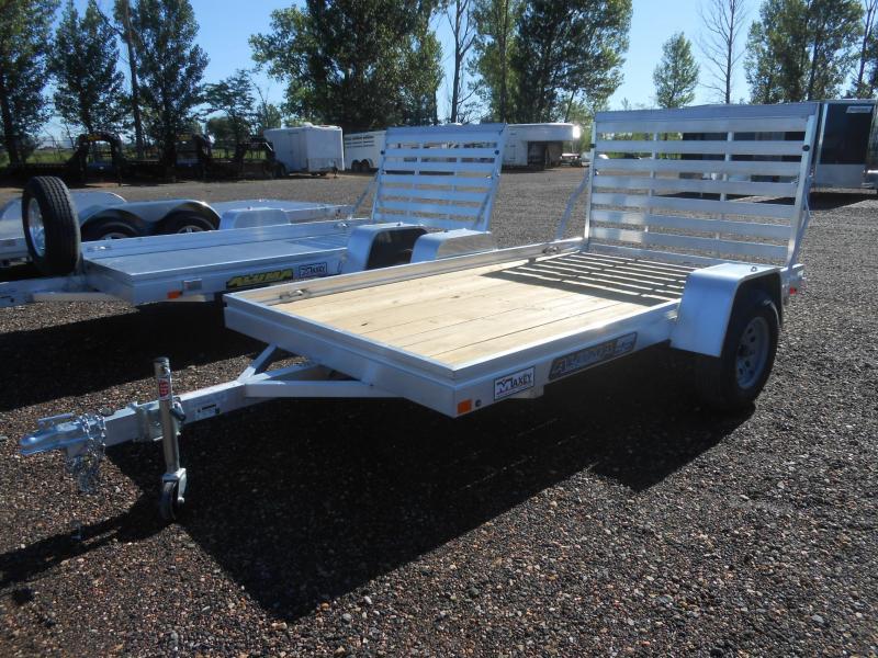 2020 Aluma 6810ESW Wood Deck Aluminum Utility Trailer