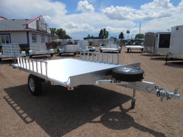 2019 Aluma A8810 Aluminum Deck-Over ATV Trailer