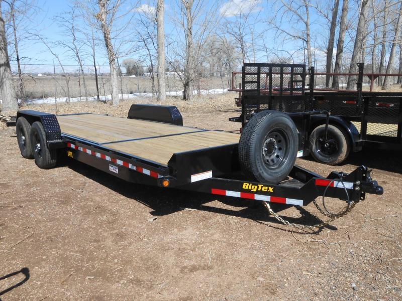 2020 Big Tex Trailers 14TL-22 Tilt Deck Equipment Trailer