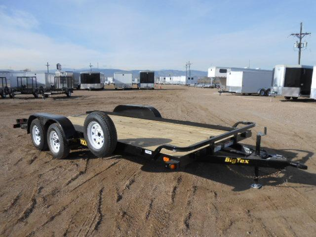 2018 Big Tex Trailers 70CH-18 Car / Racing Trailer