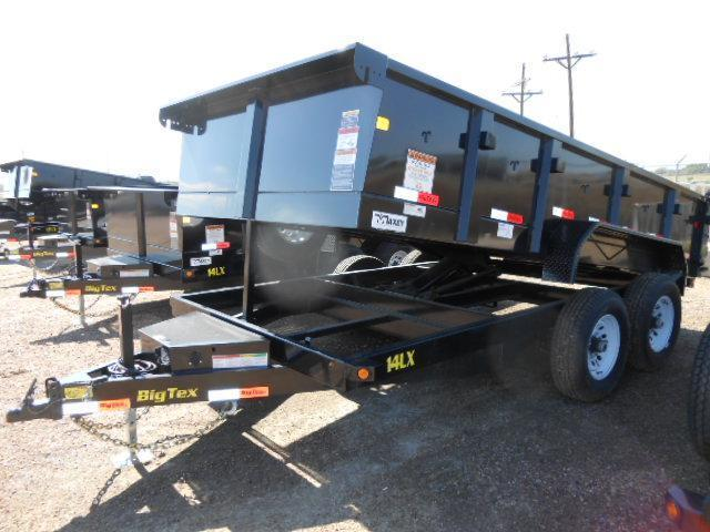 2015 Big Tex Trailers 14LX-14 Dump Trailer