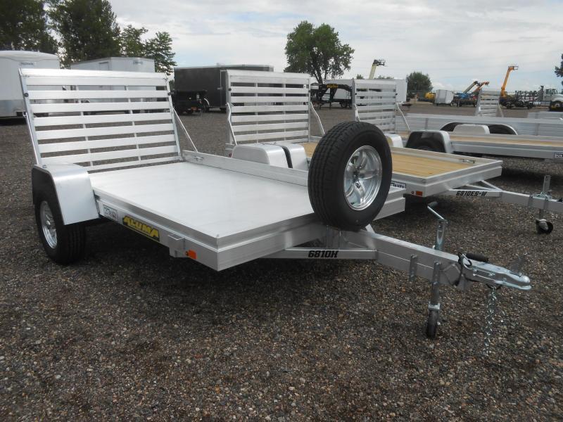 2021 Aluma 6810H All Aluminum Utility Trailer