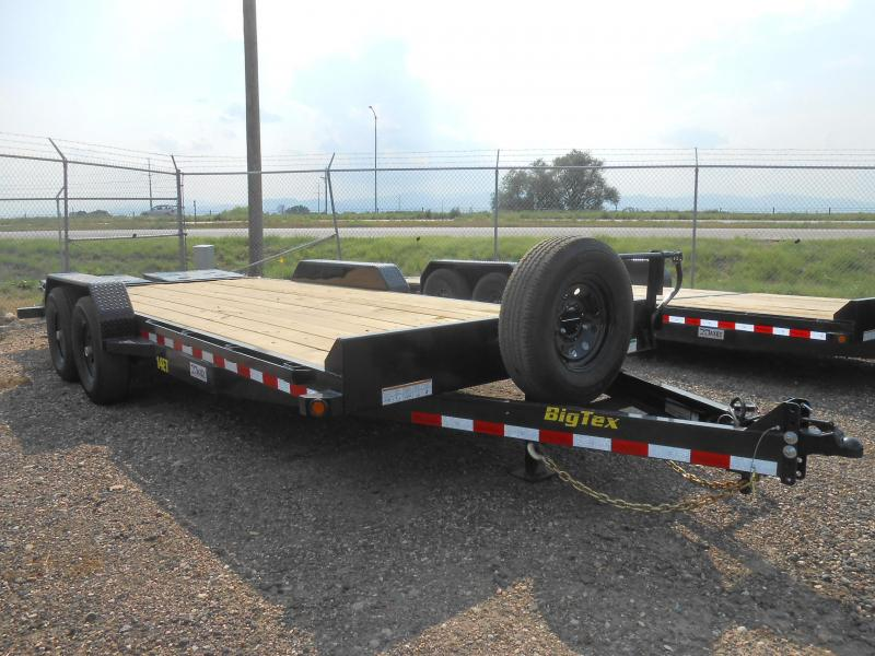 2019 Big Tex Trailers 14ET-20MR Equipment Trailer w/ MEGA RAMPS