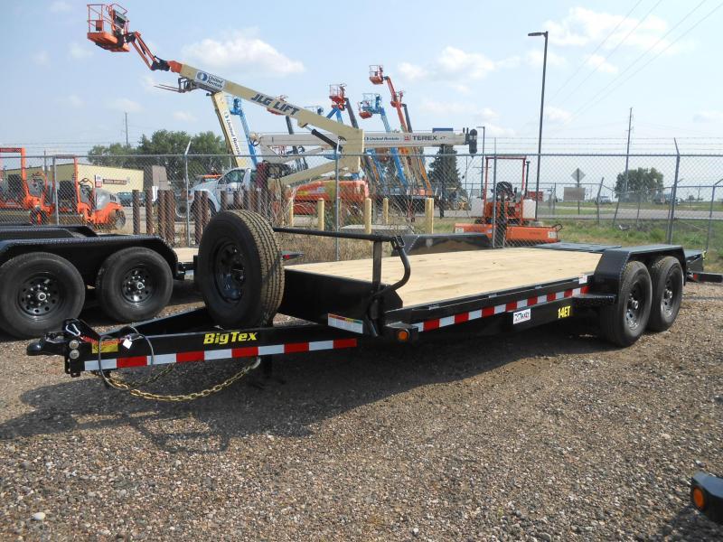 2020 Big Tex Trailers 14ET-20MR Equipment Trailer w/ MEGA RAMPS