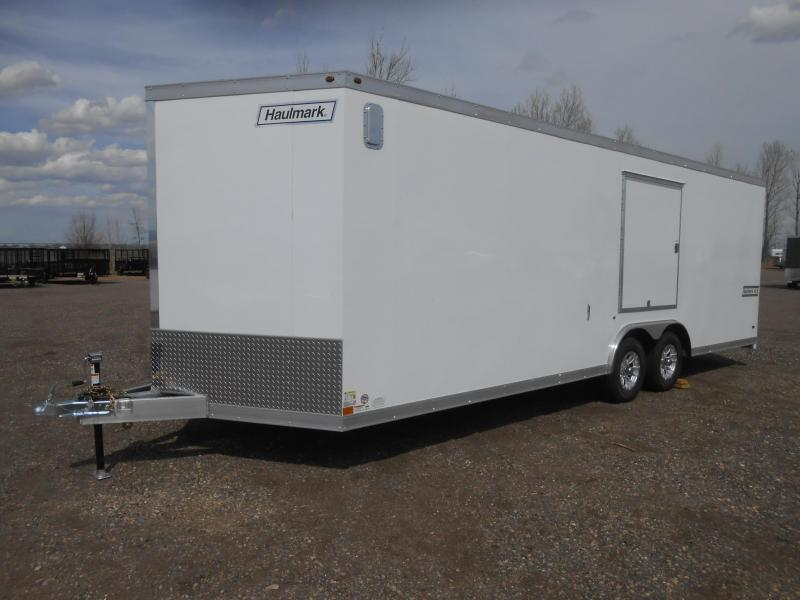2019 Haulmark HAUV85X24WT3-RD All Aluminum Enclosed Car / Racing Trailer