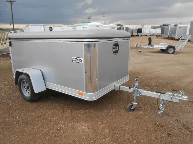 2018 Wells Cargo MPT581 All Aluminum Enclosed Cargo Trailer