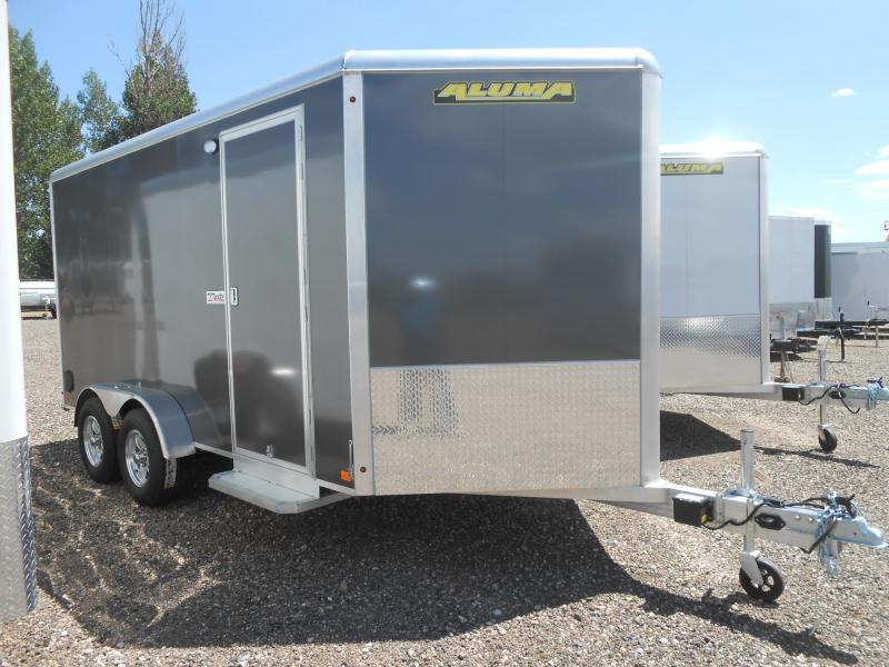 2020 Aluma AE714TAR All Aluminum Enclosed Cargo Trailer