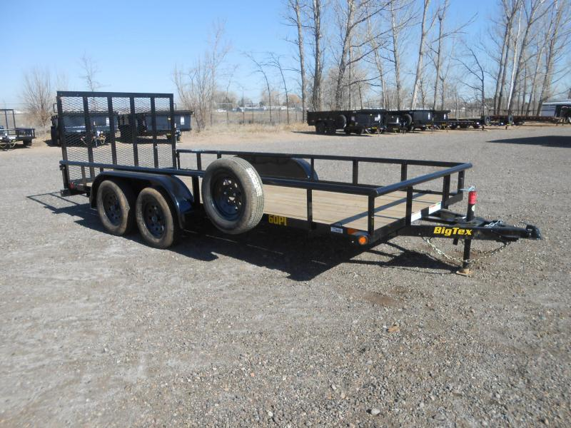 2020 Big Tex Trailers 60PI-16 Utility Trailer