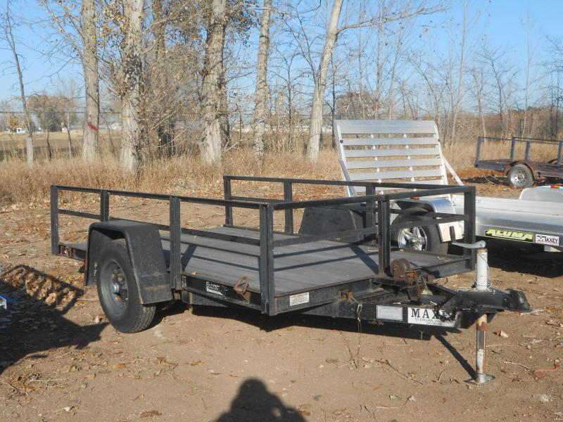 1983 Other TD-10-1 5W X 10L MAXEY TILT DECK Utility Trailer