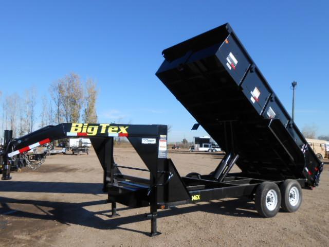 2016 Big Tex Trailers 14GX-16 Gooseneck Dump Trailer
