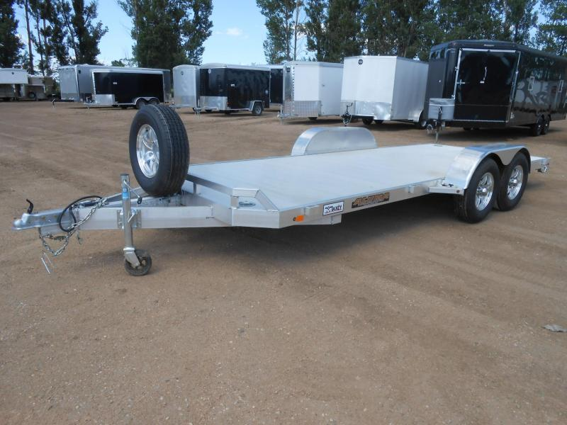 2020 Aluma 8218 All Aluminum Car / Racing Trailer