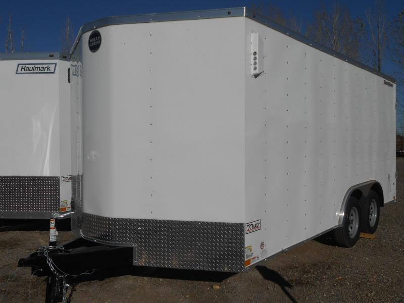 2020 Wells Cargo FT8516T2-DBL DRS Enclosed Cargo Trailer